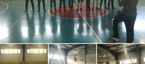 """""""Beslenme Dostu Okul"""" ve """"eTwinning – Mavi Kart (Fair-Play )"""" projeleri kapsamında düzenlediğimiz sınıflar arası futsal(Salon Futbolu) turnuvası heyecanı bugün oynanan 8-C / 8-A karşılaşması ile devam etti."""