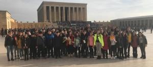 """Ortaokul 6 ve 7.sınıf öğrencilerimiz ile """"Ankara Gezisi"""" gerçekleştirdik."""