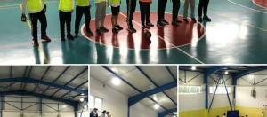 """""""Beslenme Dostu Okul"""" ve """"eTwinning – Mavi Kart (Fair-Play )"""" projeleri kapsamında düzenlediğimiz sınıflar arası futsal(Salon Futbolu) turnuvasının 3.gününde 8-A ile 8-B sınıfları karşılaştı."""